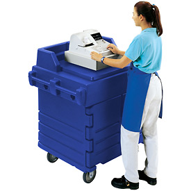 Cambro KWS40186 - Work Station, Navy Blue