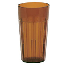 Cambro NT12153 Tumbler, Newport, 12 Oz., Amber Package Count 36 by