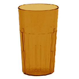 Cambro NT14153 Tumbler, Newport, 14 Oz., Amber Package Count 36 by
