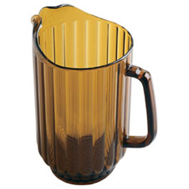 Cambro P600CW153 - Pitcher 60 Oz., Amber - Pkg Qty 6