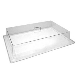 "Cambro RD1826CW135 - Display Rectangular Cover 18"" x 26"", Clear"