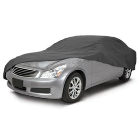 Classic Accessories Overdrive Polypro 1 Car Cover - Compact, Sedan - 10-011-241001-00