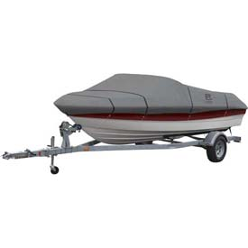 """Classic Accessories Lunex RS-1 Boat Cover 16' - 18.5', 98"""" Beam Gray - 20-142-101001-00"""