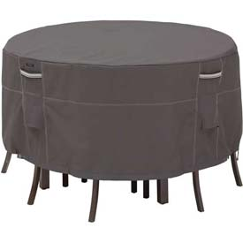 Classic Accessories Patio Table & Chair Set Cover Ravenna Series, Round, Bistro - 55-186-015101-EC