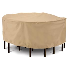 Classic Accessories Terrazzo Patio Table & Chair Set Cover - Medium, Round - 58212