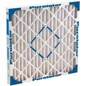 "Purolator® 5267484871 Standard Size Pleated Filters Hi-E 24""W x 24""H x 2""D - Pkg Qty 12"
