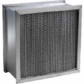 "Purolator® 5360489511 Extended Surface Cartridge Filter Serva-Cell 19-3/8""W x 24""H x 6""D"