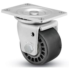 "Shepherd® Business Machine Caster - Swivel with Brake 3"" Dia 700 Lb. Cap. Phenolic"