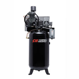 Campbell Hausfeld Two-Stage Electric Air Compressor CE7000FP, 230V, 7.5HP, 1PH, 80 Gal by