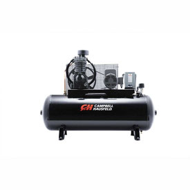 Campbell Hausfeld Two-Stage Electric Air Compressor CE7005, 230V, 7.5HP, 1PH, 80 Gal by