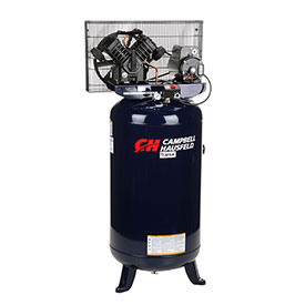 Campbell Hausfeld 1-Stage Electric Air Compressor TQ3104, 240V, 5HP, 80 Gal by