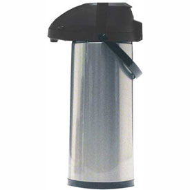 2.2-Liter Airpot w/ Lever Pump, Chrome/Black, AP75R by