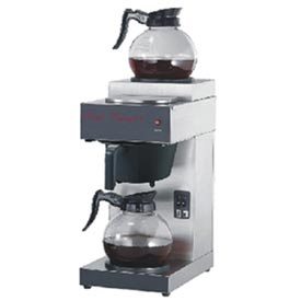 Classic Coffee Concepts RB2 - Stainless Steel Coffee Brewer w/ (2) Warming Plates