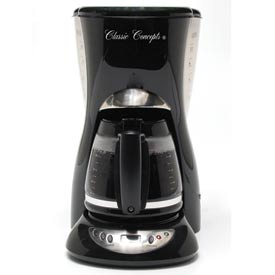 12-Cup Euro-Style Coffee Maker w/ Digital Clock, RP1021