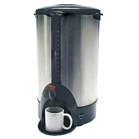 Classic Coffee Concepts SSU100 Coffee Percolator Urn, 100-Cup, Stainless Steel by