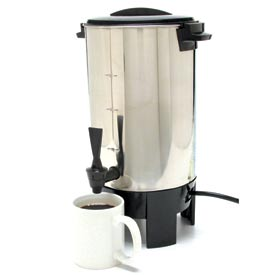 Classic Coffee Concepts SSU30-Coffee Percolator, 30-Cup Stainless Steel, 120V by