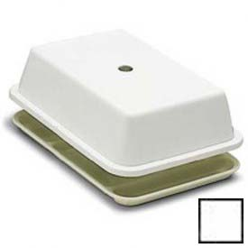 """Carlisle 1014502 Compartment Tray Cover Fits 10"""" x 14-1/2"""" Trays, White Package... by"""