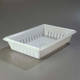 "Carlisle 1064802 Storplus Colander 26"", 18"", 5"", White Package Count 6 by"