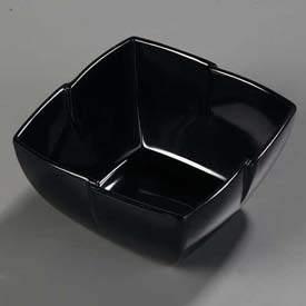 "Carlisle 3331003 Rave Serving Bowl 7"", Black Package Count 6 by"