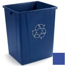 Carlisle® 344056REC14 Recycle Waste Container 56 Gallon - Blue - Pkg Qty 2