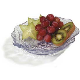 "Carlisle 034507 Leaf Plate 6"", Clear Package Count 36 by"