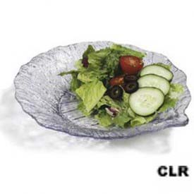 "Carlisle 34707 Leaf Plate, 9"", Clear by"