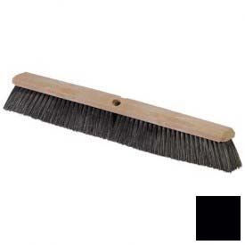 "Flo-Pac  Polypropylene Sweep 24"" Black Package Count 12 by"