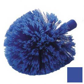 Carlisle Flo-Pac Round Duster With Soft Flagged PVC Bristles 36340414, Blue Package Count... by