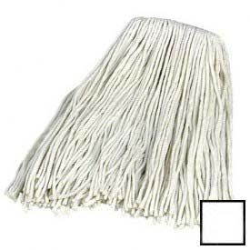 Flo-Pac #16 4-Ply Rayonic/End Wet Mop White Package Count 12 by