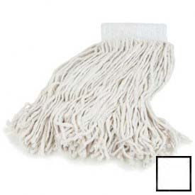 "Flo-Pac #16 Headband Mop 5"" White Package Count 12 by"