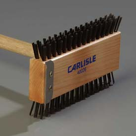 "Click here to buy Carlisle 4002600 Broiler Master W/ Carbon Steel Bristles 30-1/2"" Package Count 6."