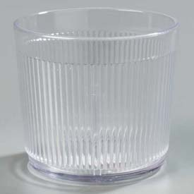 Carlisle 402907 Crystalon Stack-All Old Fashion SAN Tumbler 24 Oz., Clear Package Count 48 by