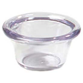 Carlisle 4312203 Smooth Ramekin 2 Oz., Black Package Count 48 by