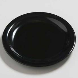 "Carlisle 4385403 Daytona Salad Plate 7-1/4"", Black Package Count 48 by"