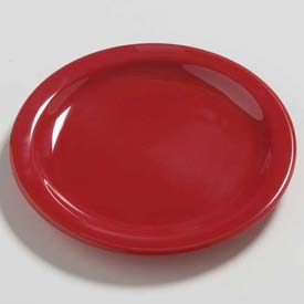 "Carlisle 4385405 Daytona Salad Plate 7-1/4"", Red Package Count 48 by"