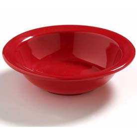 """Carlisle 4386605 Daytona Fruit Bowl 4-1/2"""", Red Package Count 48 by"""
