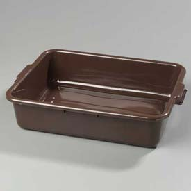 "Carlisle 4401001 Comfort Curve Bus Box 20"" x 15"" x 5"", Brown Package Count... by"