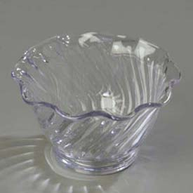 Carlisle 4530-907 Tulip Dessert Dish 5 Oz. (12/St), Clear Package Count 4 by
