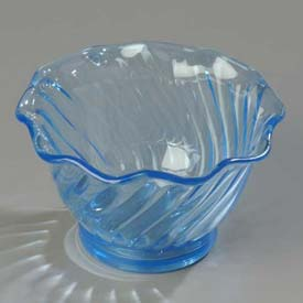 Carlisle 453054 Tulip Dessert Dish 5 Oz., Ice Blue Package Count 24 by