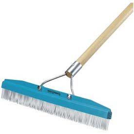 """Flo-Pac Commercial Groomer Carpet Rake 54"""" Long X 18"""" Wide Package Count 12 by"""