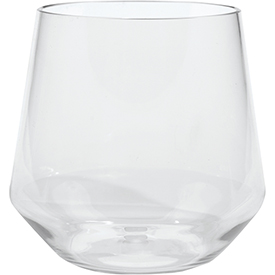 Carlisle 4950307 Astaire Stemware Stemless Wine Glass 13 oz Clear Package Count 12 by