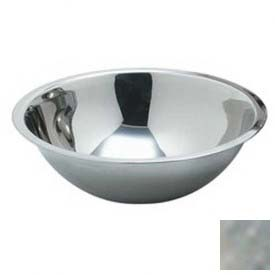 Carlisle 601405 Classic Mixing Bowl, 5 Qt., Stainless Steel Package Count 12 by