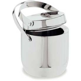 Carlisle 609190 Double Wall Ice Bucket W/Tong 1.5 Qt. by