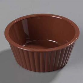 Carlisle 084528 Fluted Ramekin 4.5 Oz., Lennox Brown Package Count 48 by
