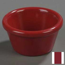 Carlisle 085258 Ramekin, Smooth 2 Oz., Roma Red by