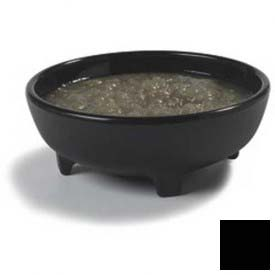 Carlisle 87803 Molcajete Ramekin, 8 Oz., Black by