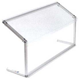 """Carlisle 926007 Sneeze Guard, 60"""" Adjustable, Single-Sided, Clear by"""