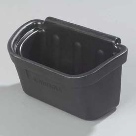 Carlisle CC11SH03 Silverware Bin for Bussing Cart, Black by