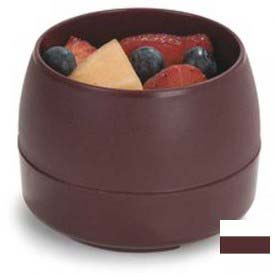 Dinex DX110561 Classic Stackable 5 Oz. Bowl, insulated, 5 Oz. 48/Cs, Cranberry by