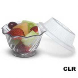 Dinex DX11820174 Classic For Lid Tulip Bowl, 1000/Cs, Clear by